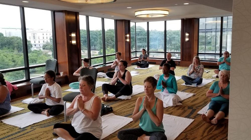 ovarian cancer yoga